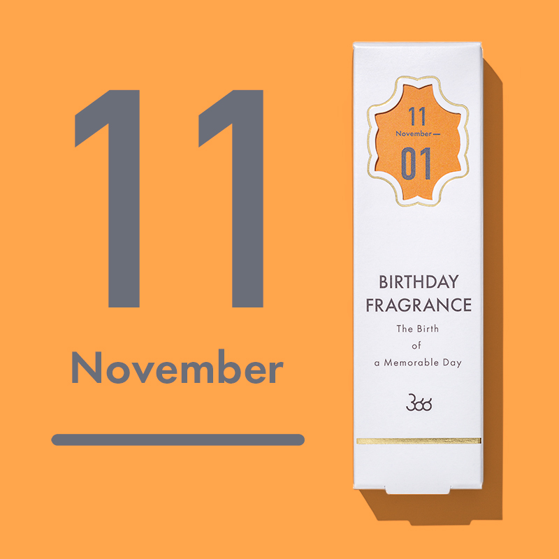 【366】BIRTHDAY FRAGRANCE November(11月)