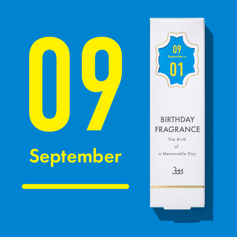 【366】BIRTHDAY FRAGRANCE September(9月)