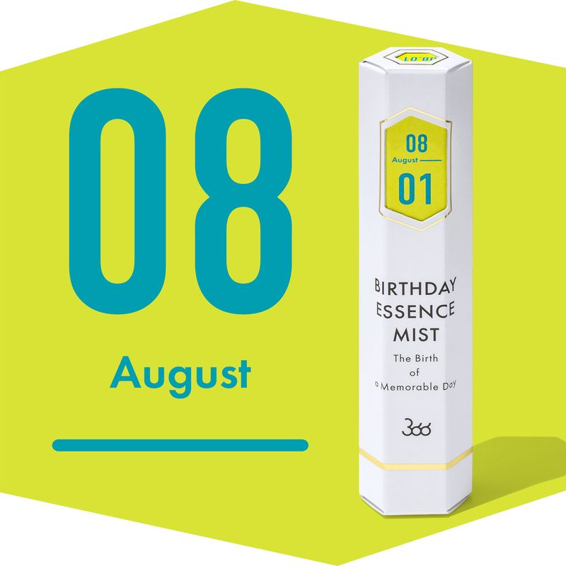 【366】BIRTHDAY ESSENCE MIST  August(8月)