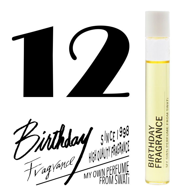 BIRTHDAY FRAGRANCE  December(12月)
