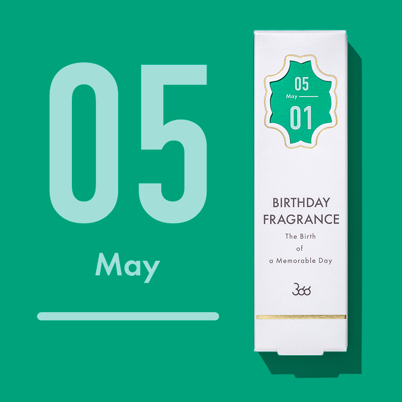 【366】BIRTHDAY FRAGRANCE May(5月)