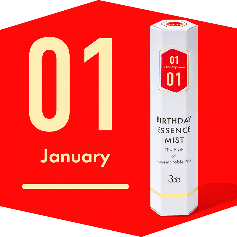 【366】BIRTHDAY ESSENCE MIST January(1月)
