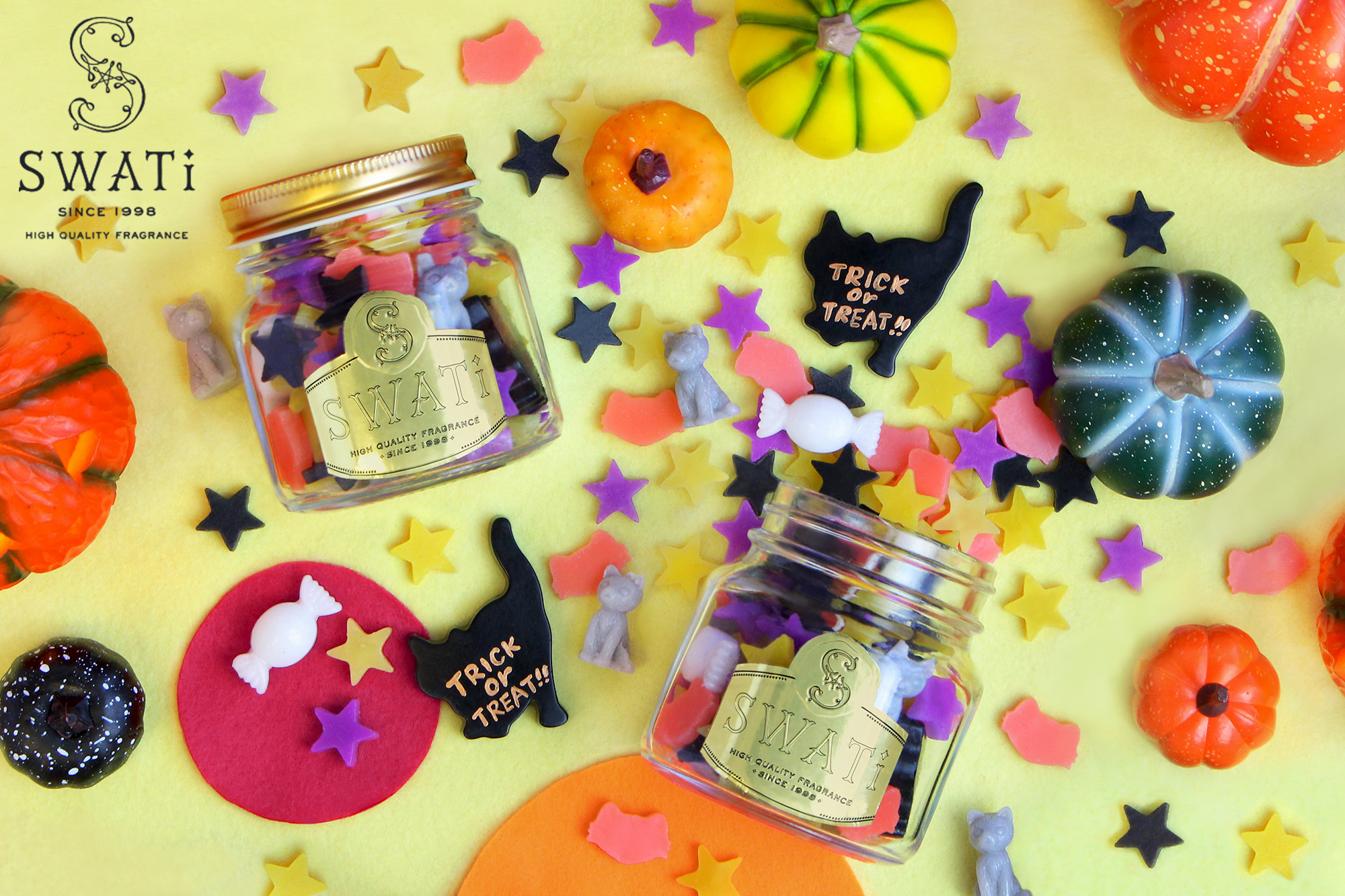【OFFICIAL STORE限定】コンペイトウキャンドル~Month~ Trick or Treat