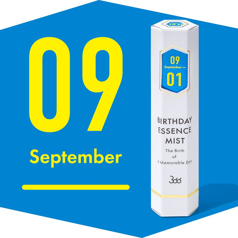【366】BIRTHDAY ESSENCE MIST September(9月)