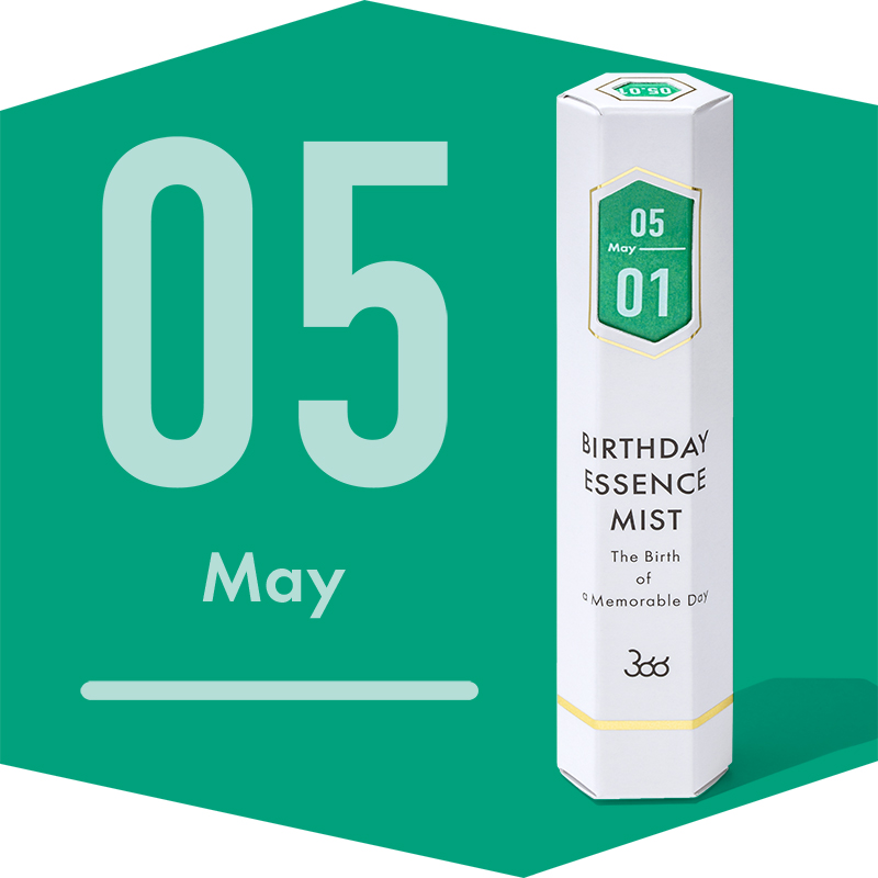【366】BIRTHDAY ESSENCE MIST May(5月)